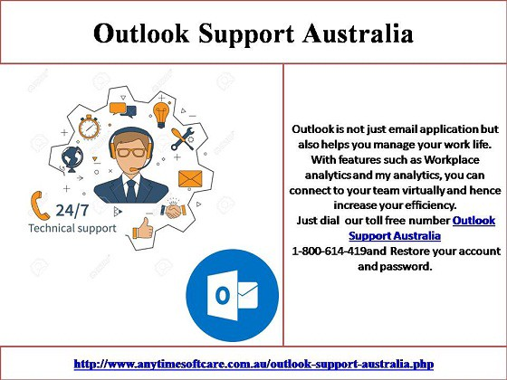 Restore Your Outlook Account Connect To Outlook Support Australia 1 800 614 419 By Mia William Medium