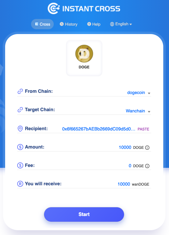 1*IIkuvcEdbfZFo7Ng fHYVg The first one's STILL on us! $WAN cross-chain faucet now supports $DOGE!
