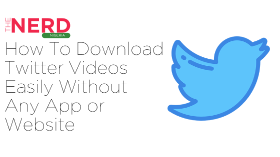 How to download Twitter Videos easily without any app or Website