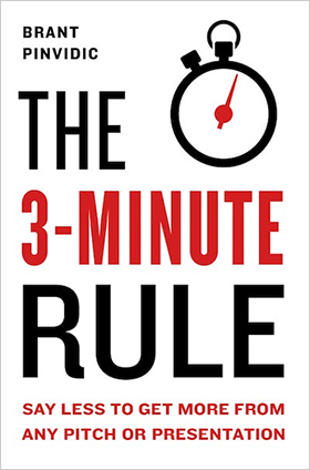 Book cover: The 3-Minute Rule