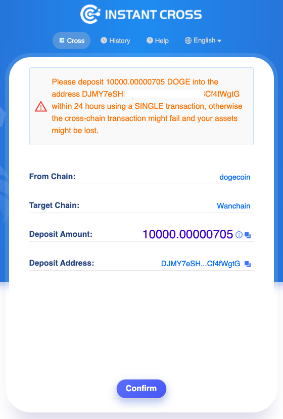 The first one's STILL on us! $WAN cross-chain faucet now supports $DOGE!