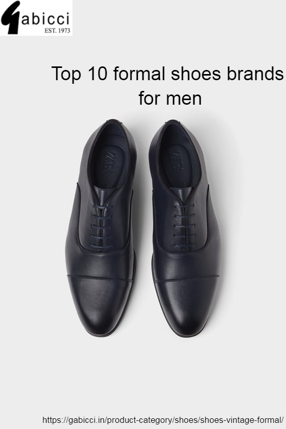 Top 10 formal shoes brands for men | by