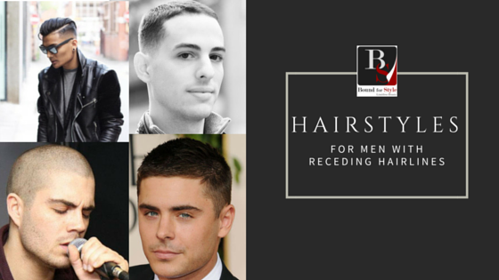 5 Hairstyles for Men with Receding Hairlines - Robin Vinz