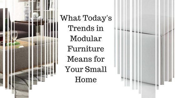 Modular Furniture Means For Your Small