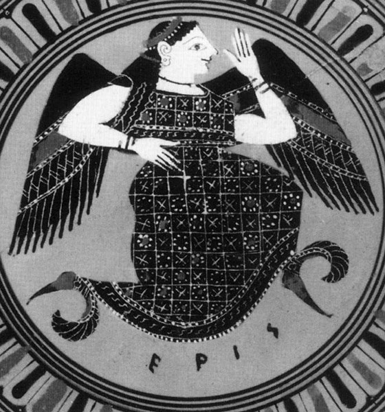 The Myth of Eris, the Primordial Goddess of Chaos - Dave