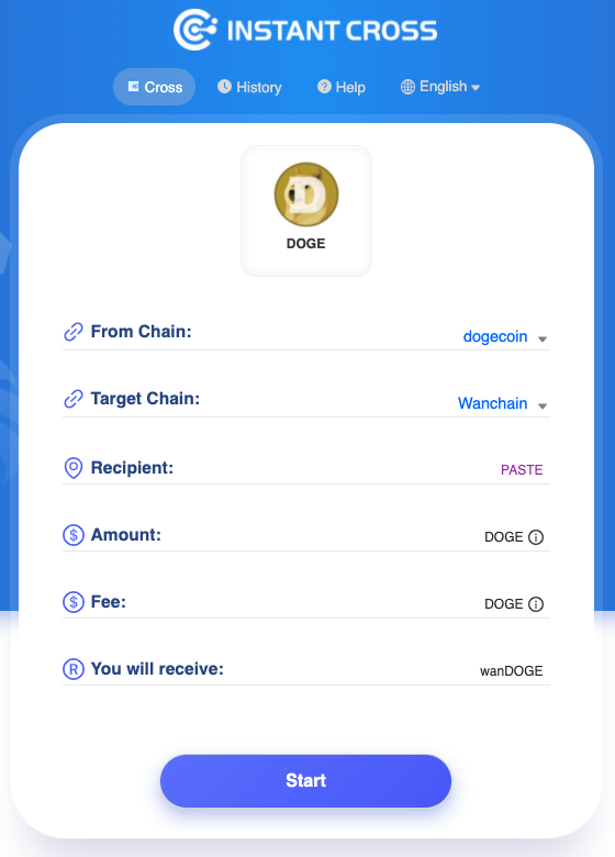 1*o3kkUxMC ugwRXZfdP aZA The first one's STILL on us! $WAN cross-chain faucet now supports $DOGE!