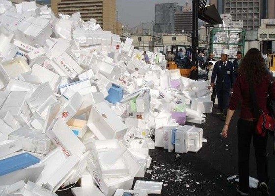 A New Way To Recycle Styrofoam Waste Effectively By Sophieyang Medium