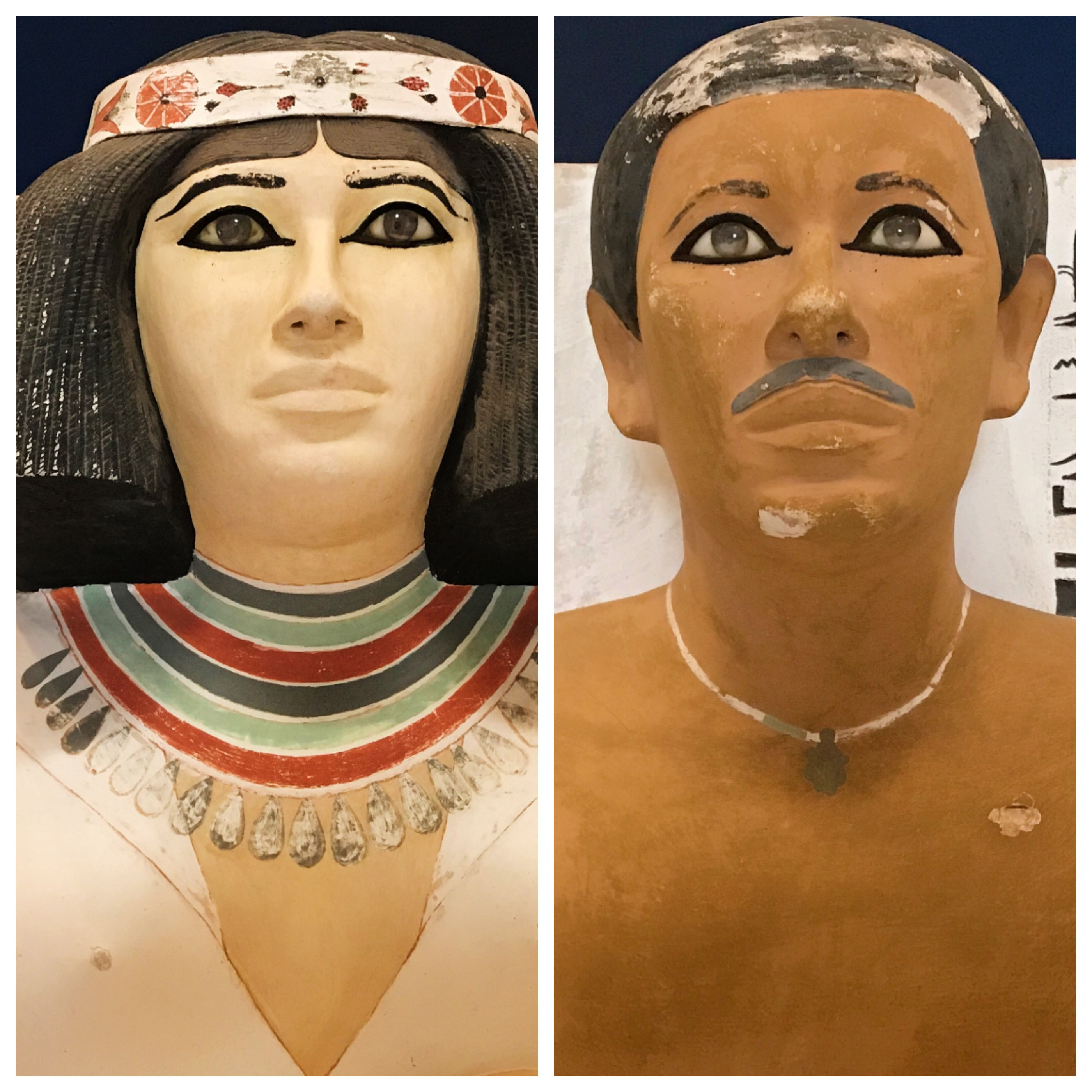 The Statues in Egypt Used to Have Eyeballs - A Philosopher's