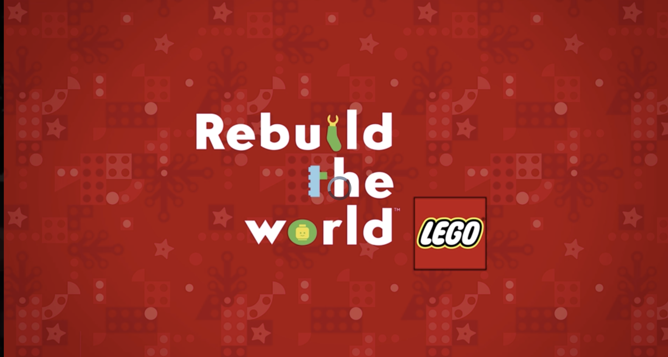 end title on video Rebuild the World lego.com