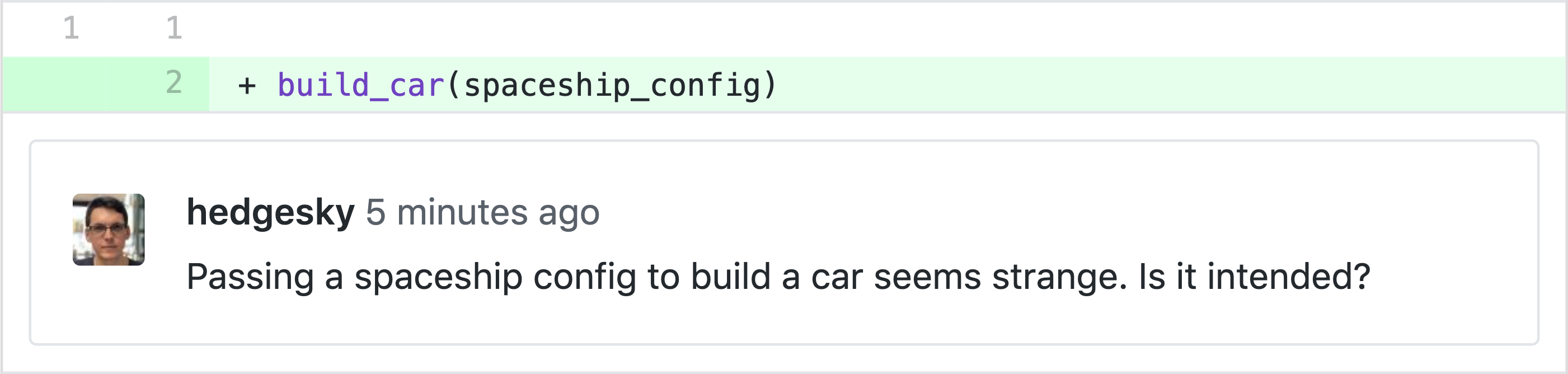 A comment on Github points on possible issue