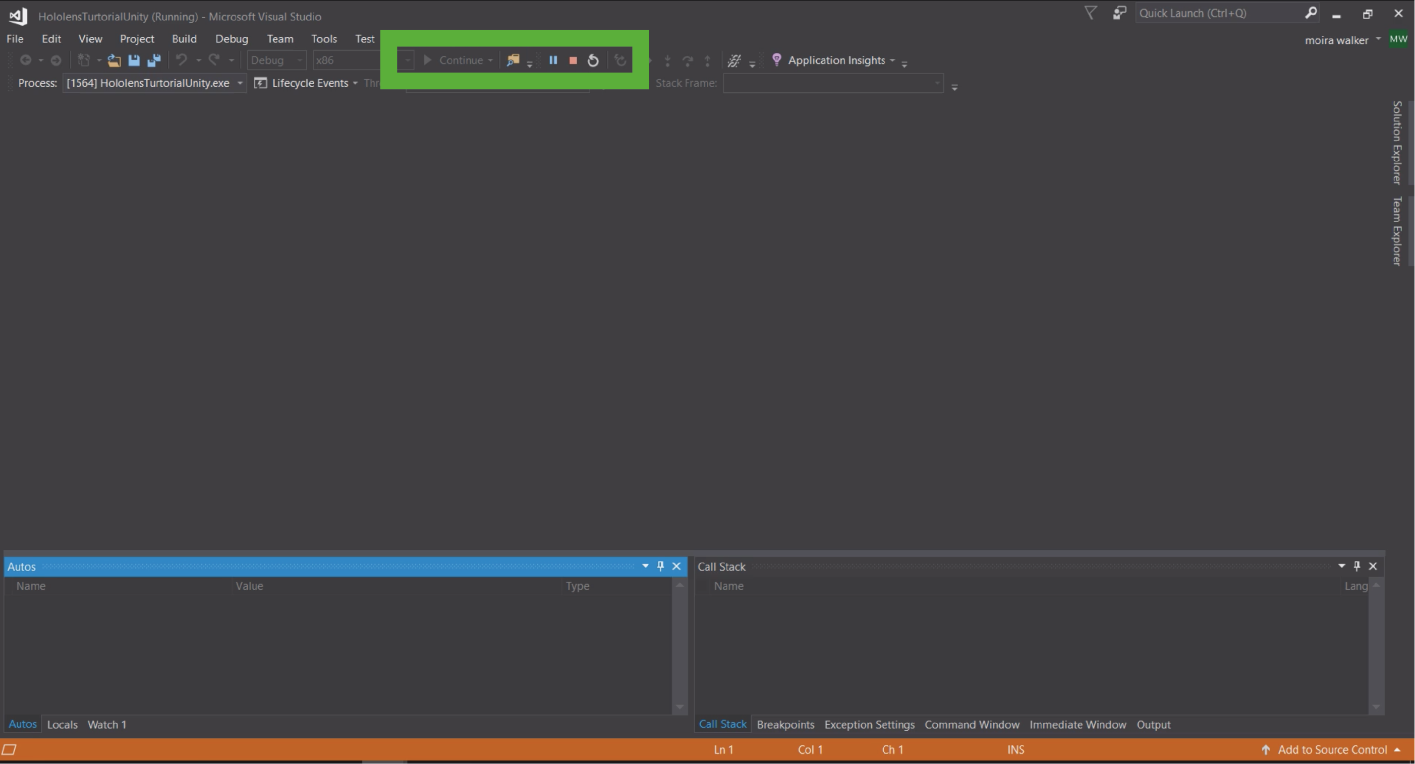 Step by step HoloLens 1 with Unity and Visual Studio Tutorial