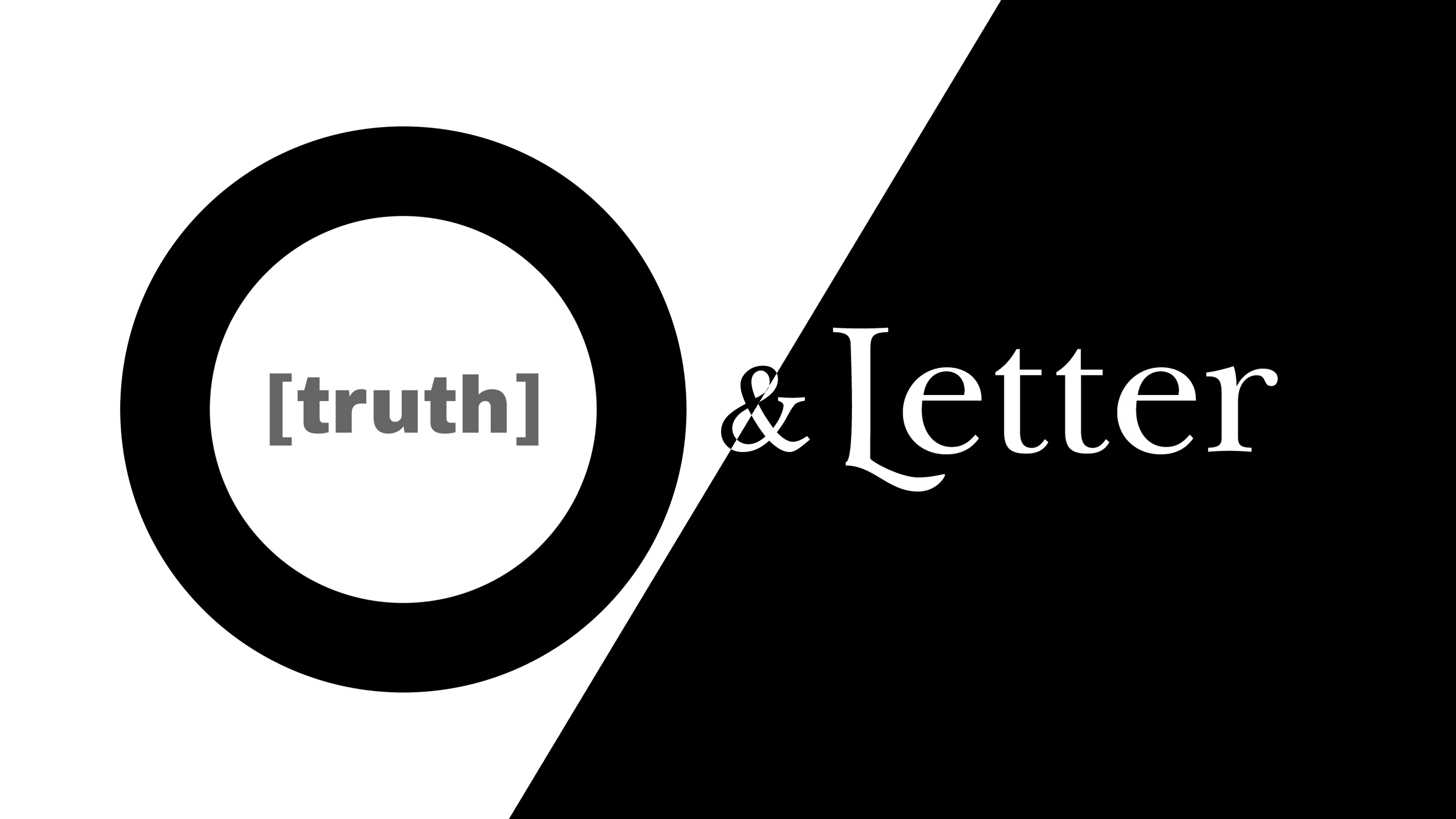 truth in between letter searching for context through by j d richmond truth in between medium truth in between letter searching