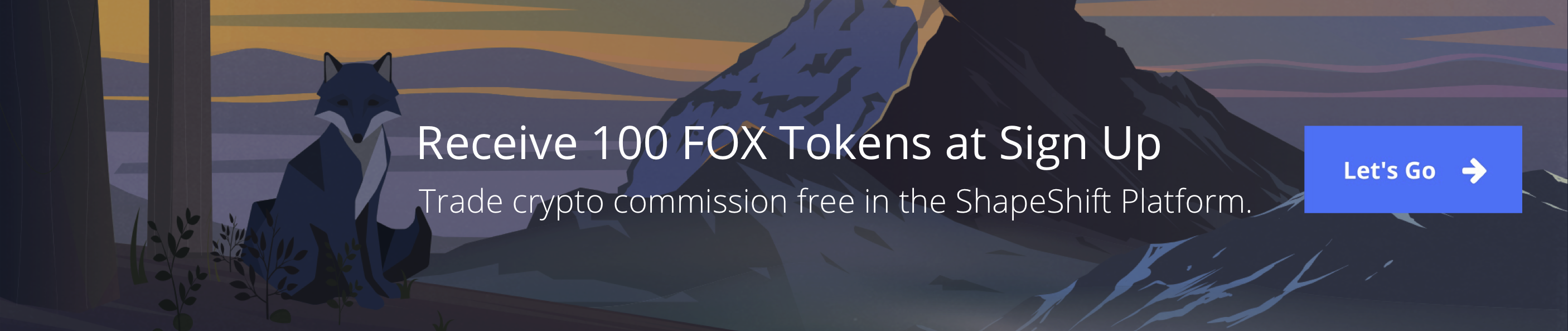 Trade crypto for free on the ShapeShift Platform. Create a verified account & get 100 FOX tokens to start trading for free.