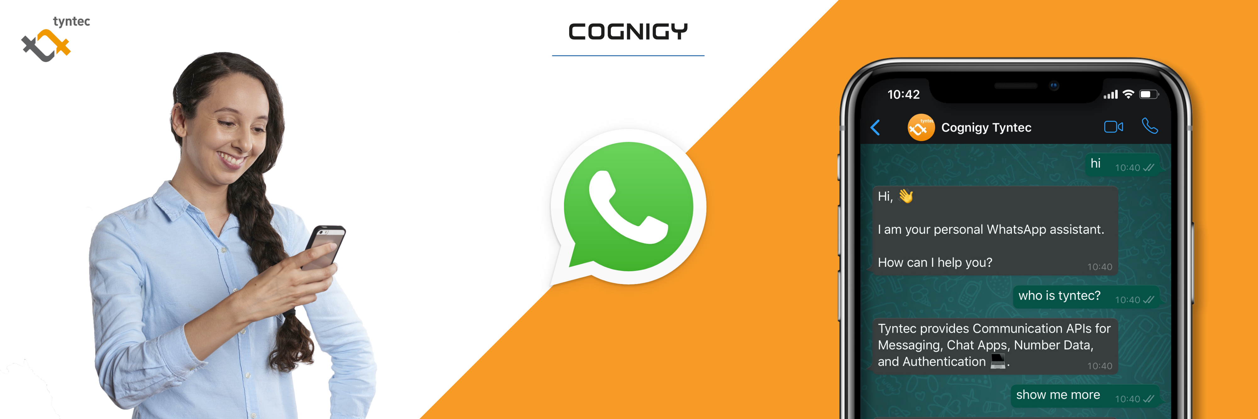 Connect Cognigy.AI To WhatsApp with Tyntec