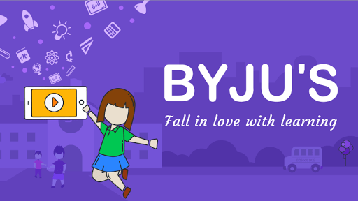 Byju's Fall in love with learning
