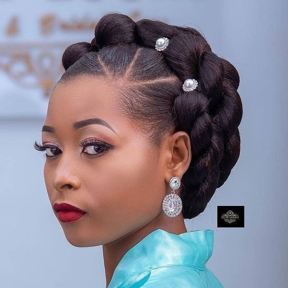 Black Braided Wedding Hairstyles: Traditional Congo Hair Braiding Styles
