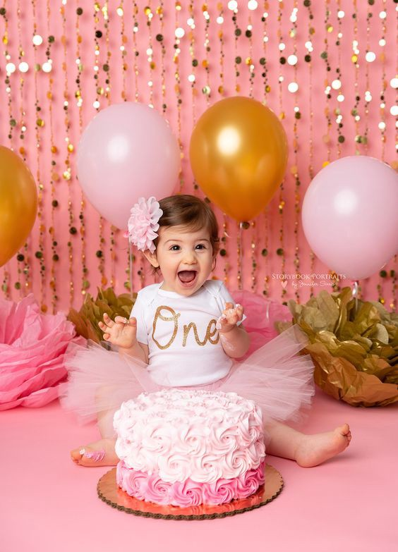 Marvelous Amazing First Birthday Cake Design Ideas Bondita Deka Medium Funny Birthday Cards Online Elaedamsfinfo