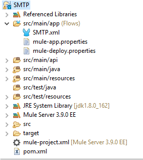 Mulesoft : SMTP : Transform, send file as email attachments