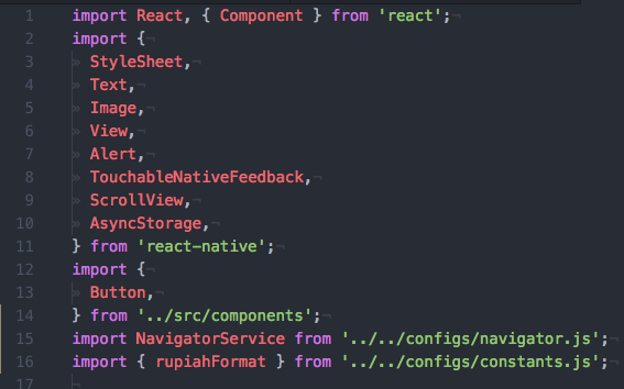 English] React Native — Import with Absolute Path - React