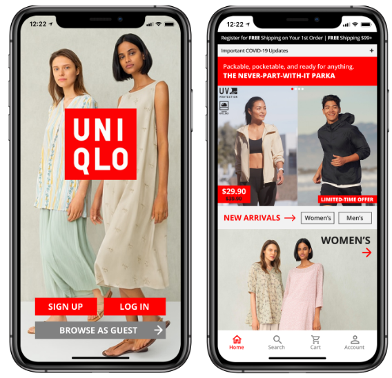 Ux Case Study Redesigning The Uniqlo Mobile App By Christina Dinh Vu Medium