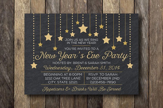 New Year Party Invitation Card Ritu Agarwal Medium