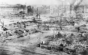 Hiroshima 1945? No, Tulsa, Oklahoma 1921. Americans did this to other Americans. Why? Source: Google Images