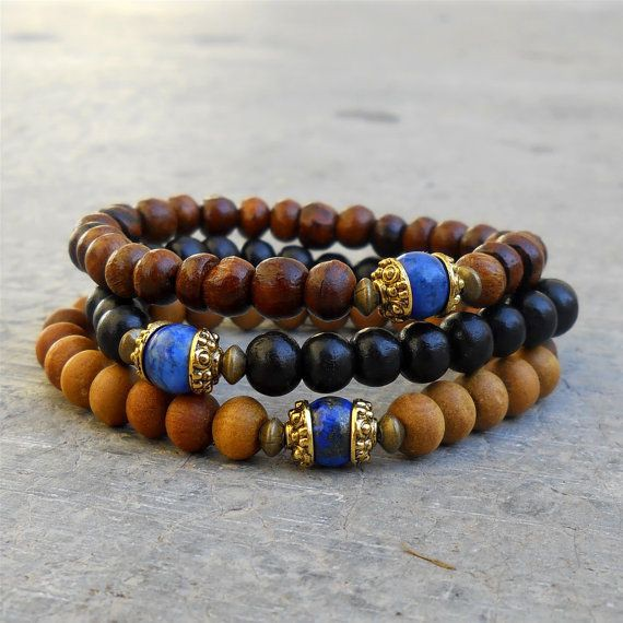 Beaded Wooden Bracelets For The Stylish
