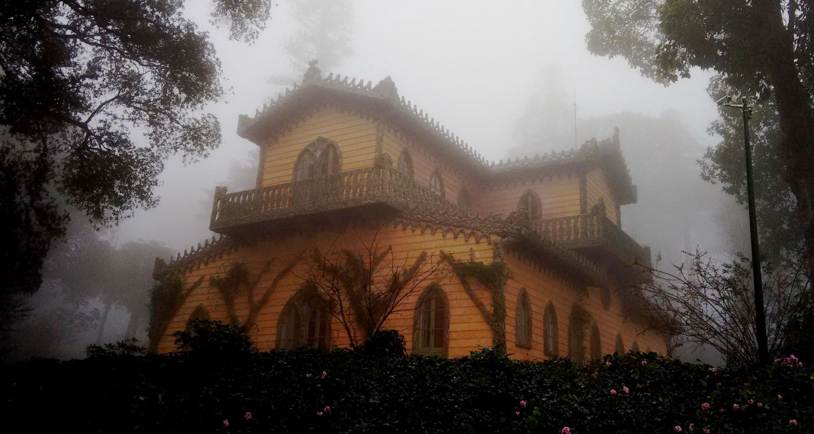The countess's chalet in Sintra