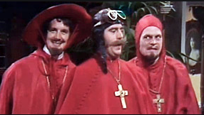 Monty Python's similarly competent Inquisitors