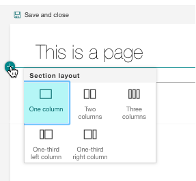 Editing Pages with the Modern SharePoint Experience (Part I)