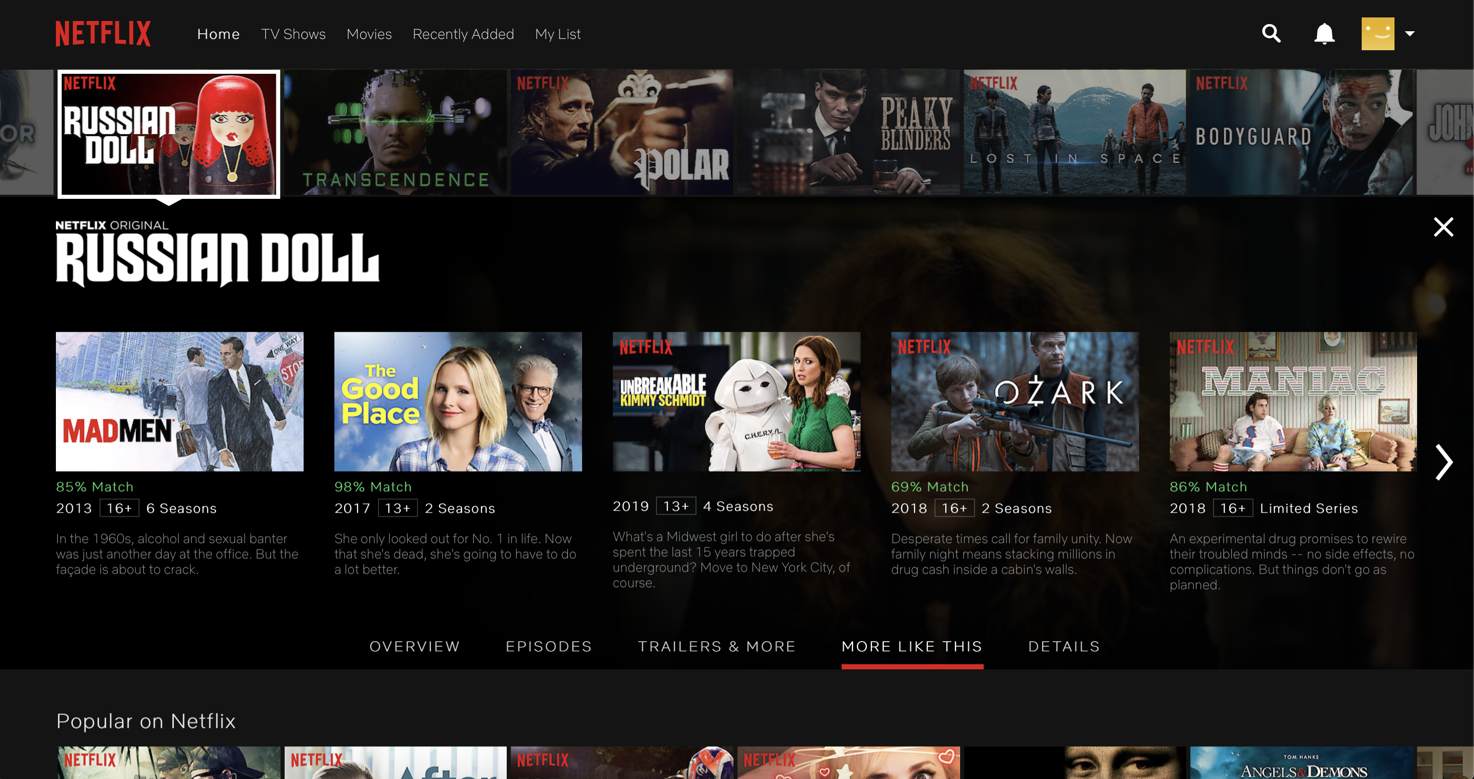 Netflix User Interface Design Analysis - The Startup - Medium