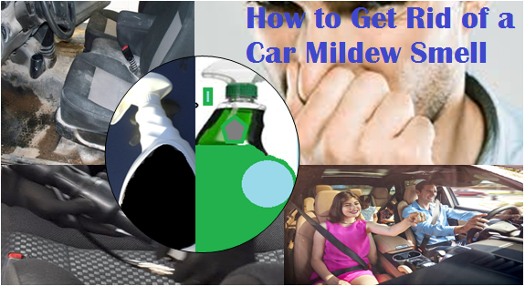 How to rid your car of offensive mildew and rubber floor mat