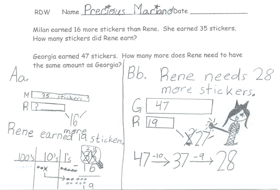 Problem Solving The RDW Way. Strategies By Eureka Math Eureka Math  Medium