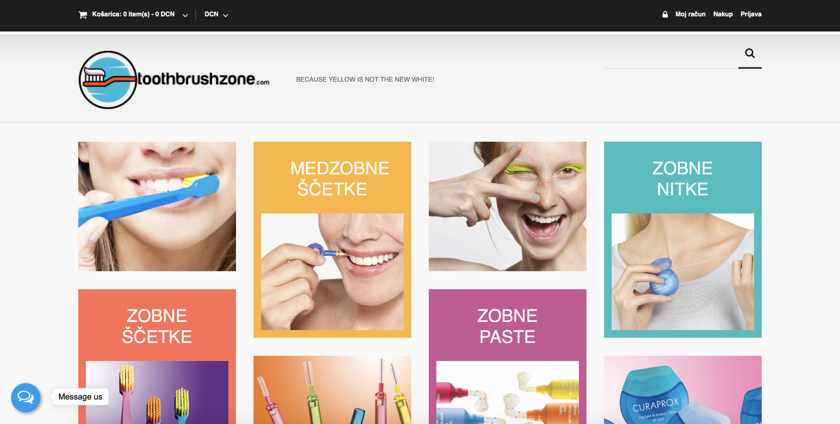 Toothbrushzone online shop dentacoin oral care products