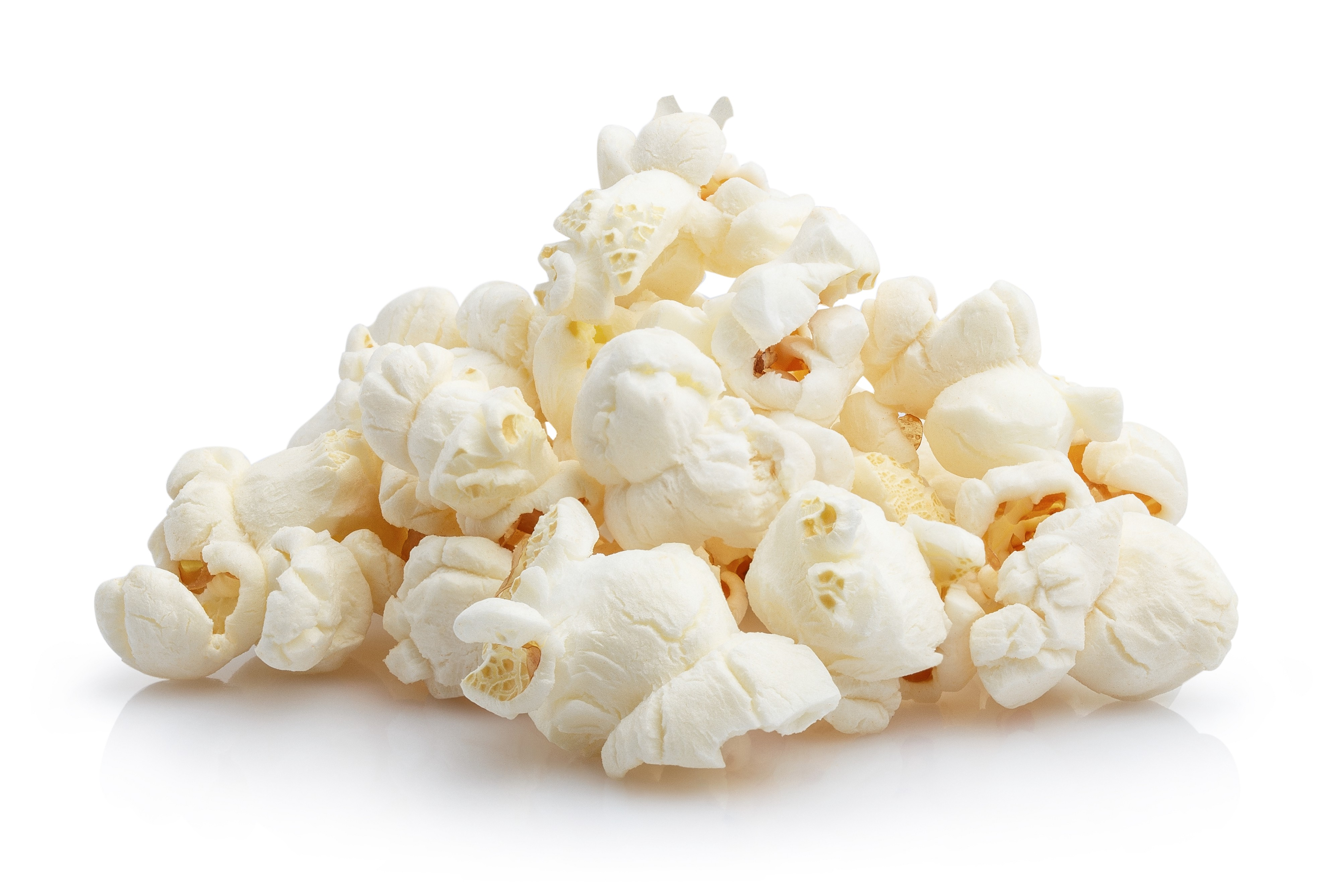 Healthy foods can be yummy  too - for instance air-popped pop corn is low calories