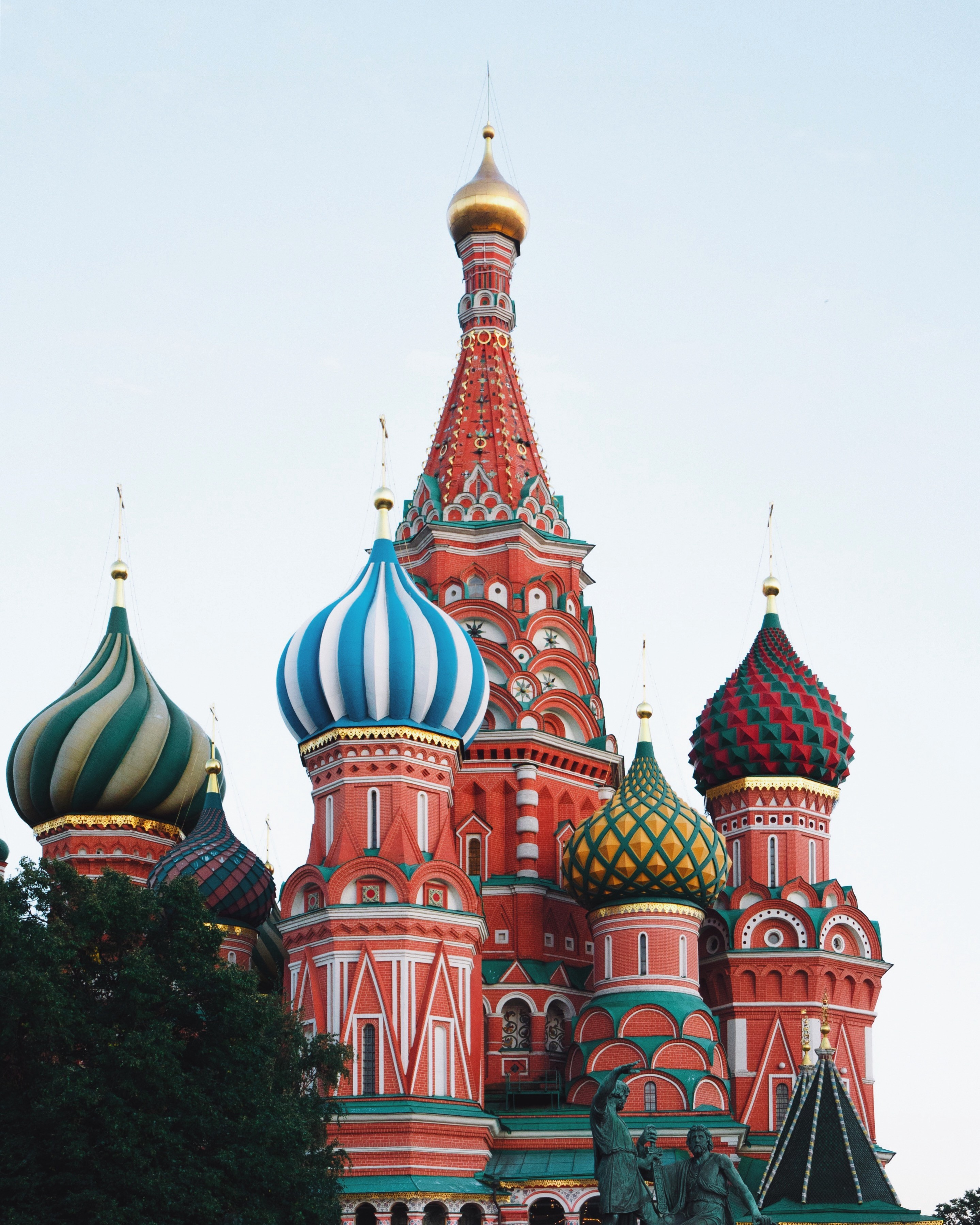 St. Basil's Basilica in Moscow