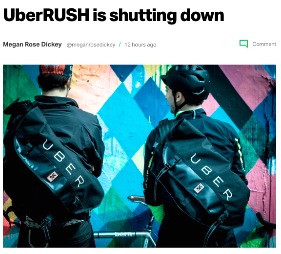 The Real Reason UberRUSH Shut Down - Adam Price - Medium