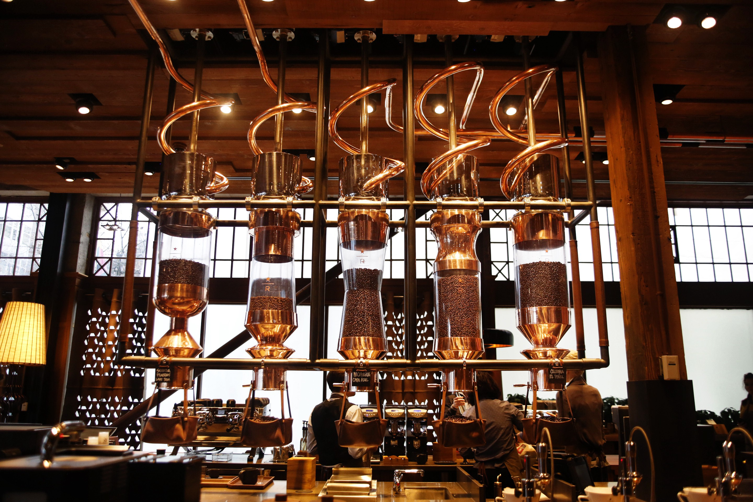 The Starbucks Reserve Roastery The Starbucks Collection