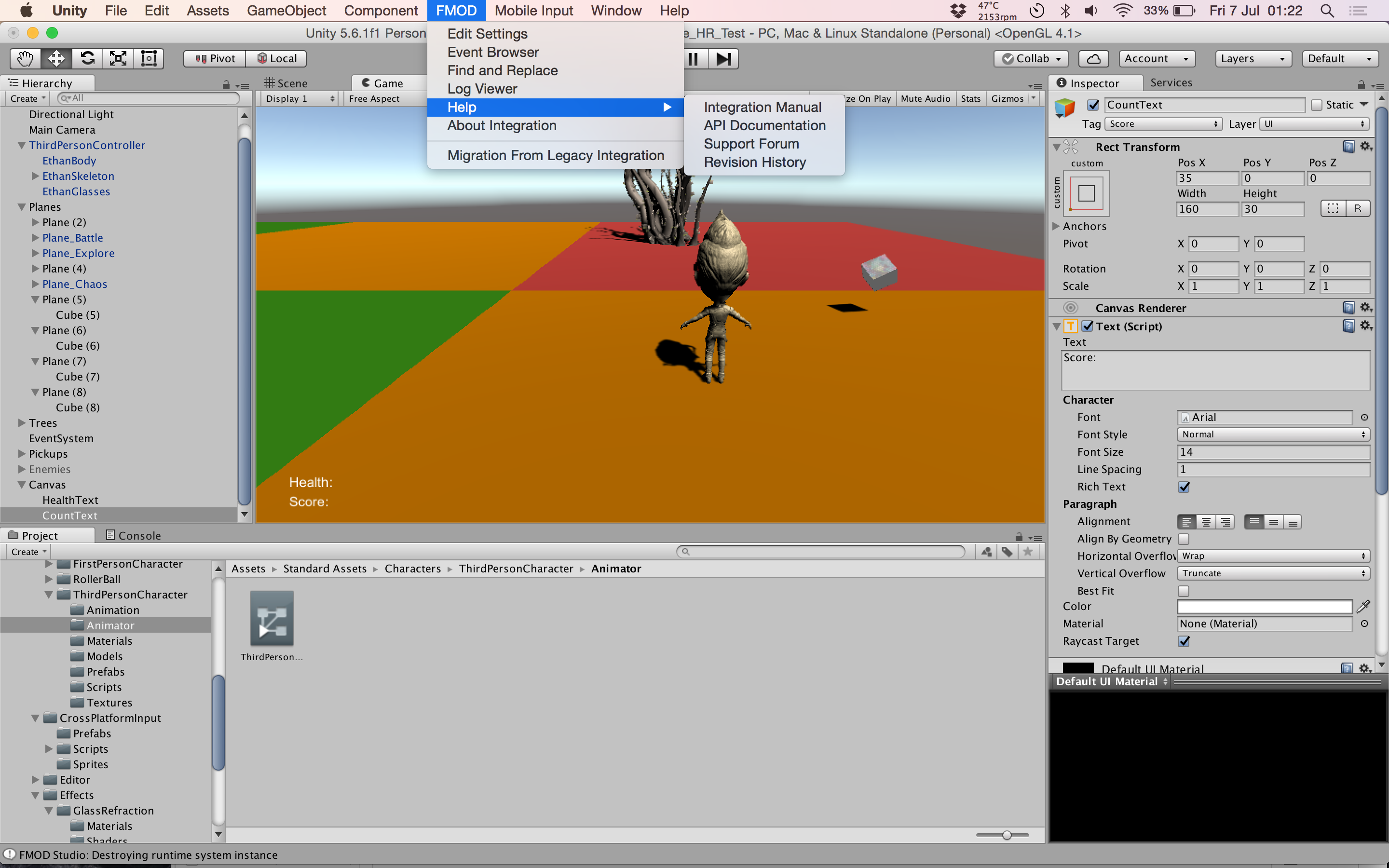First Steps with FMOD and Unity - Code Like A Girl