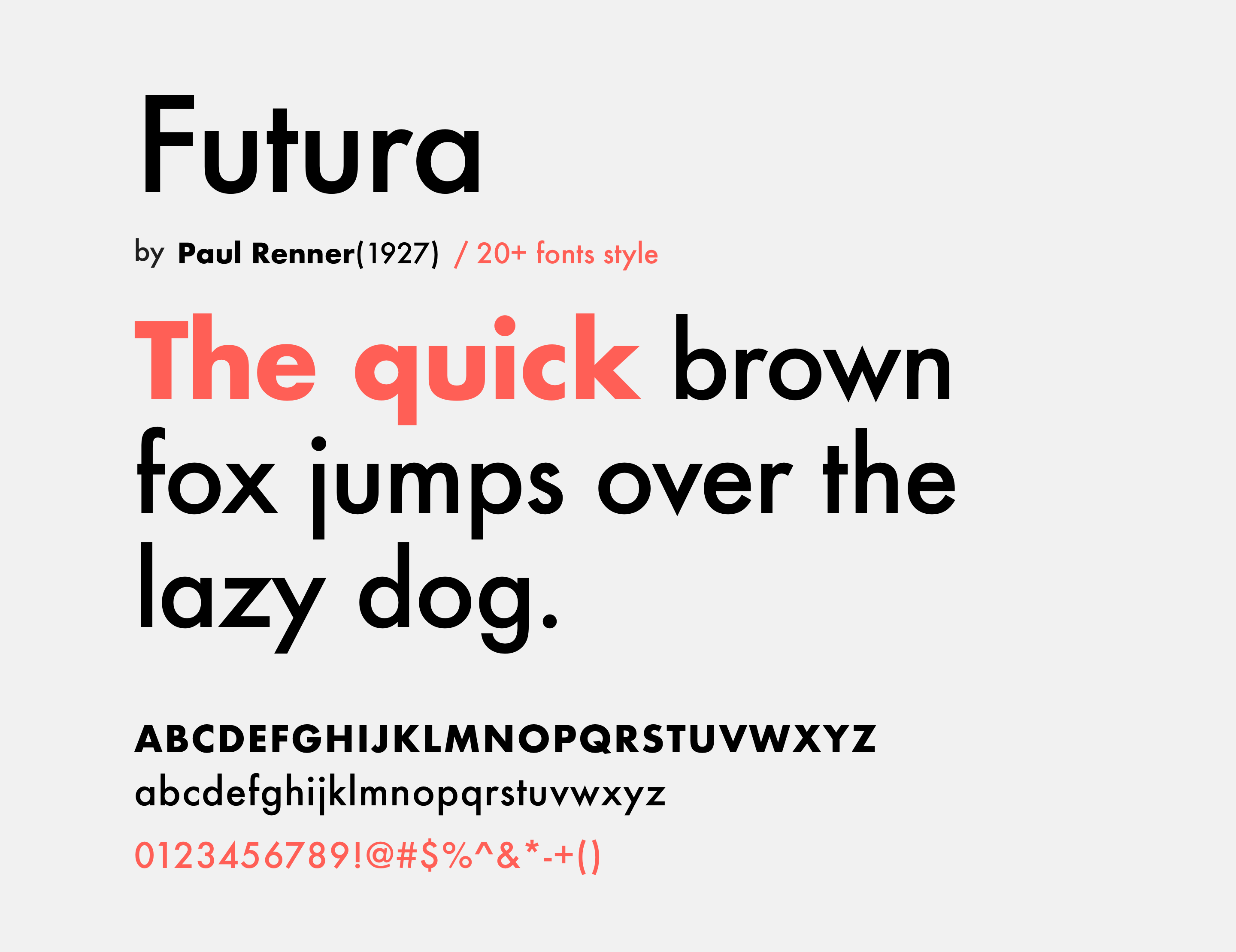Top 5 geometric fonts for modern UI - Muzli - Design Inspiration