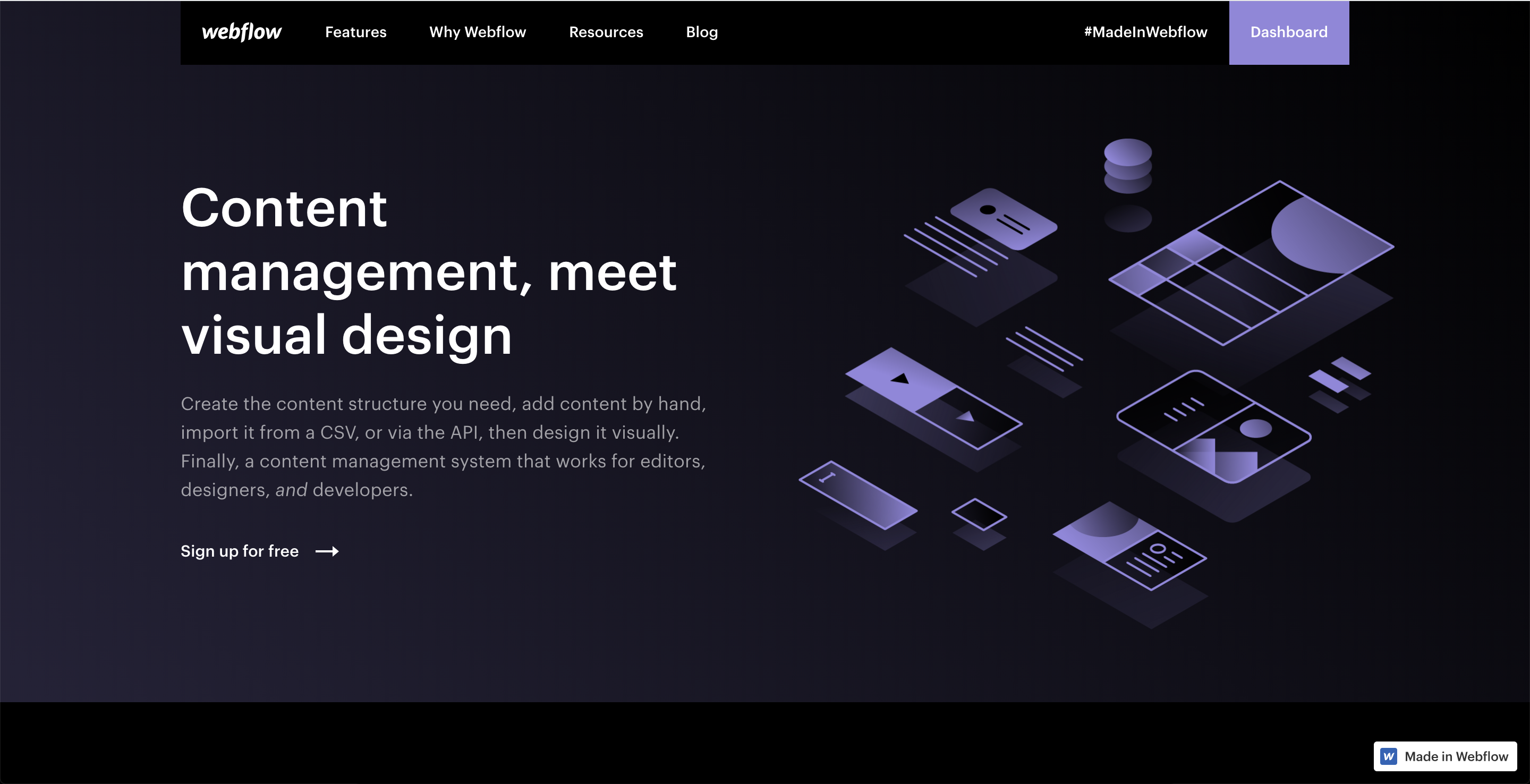 Why Webflow Is the Best Web Design Program Right Now