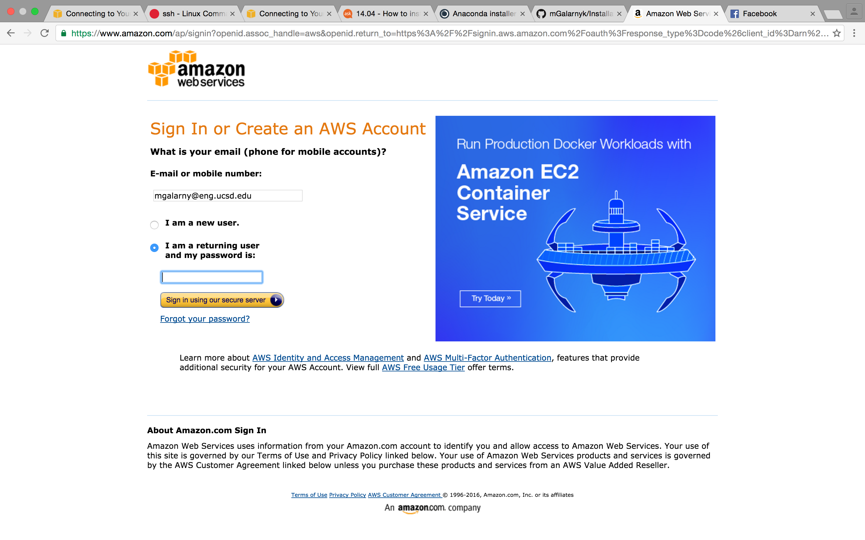 AWS EC2: Connect to Linux Instance using SSH - Michael