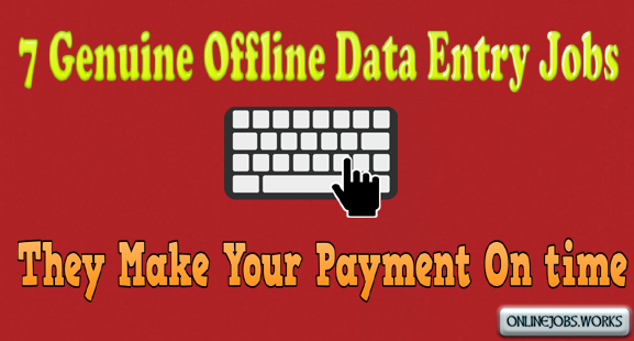 Offline data entry projects in bangalore without investment