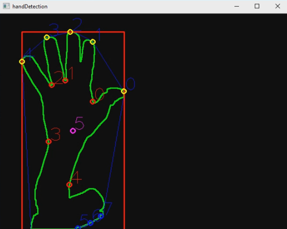 Handy, hand detection with OpenCV - Pierfrancesco Soffritti