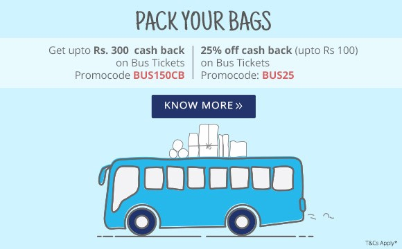 bus ticket coupon code paytm
