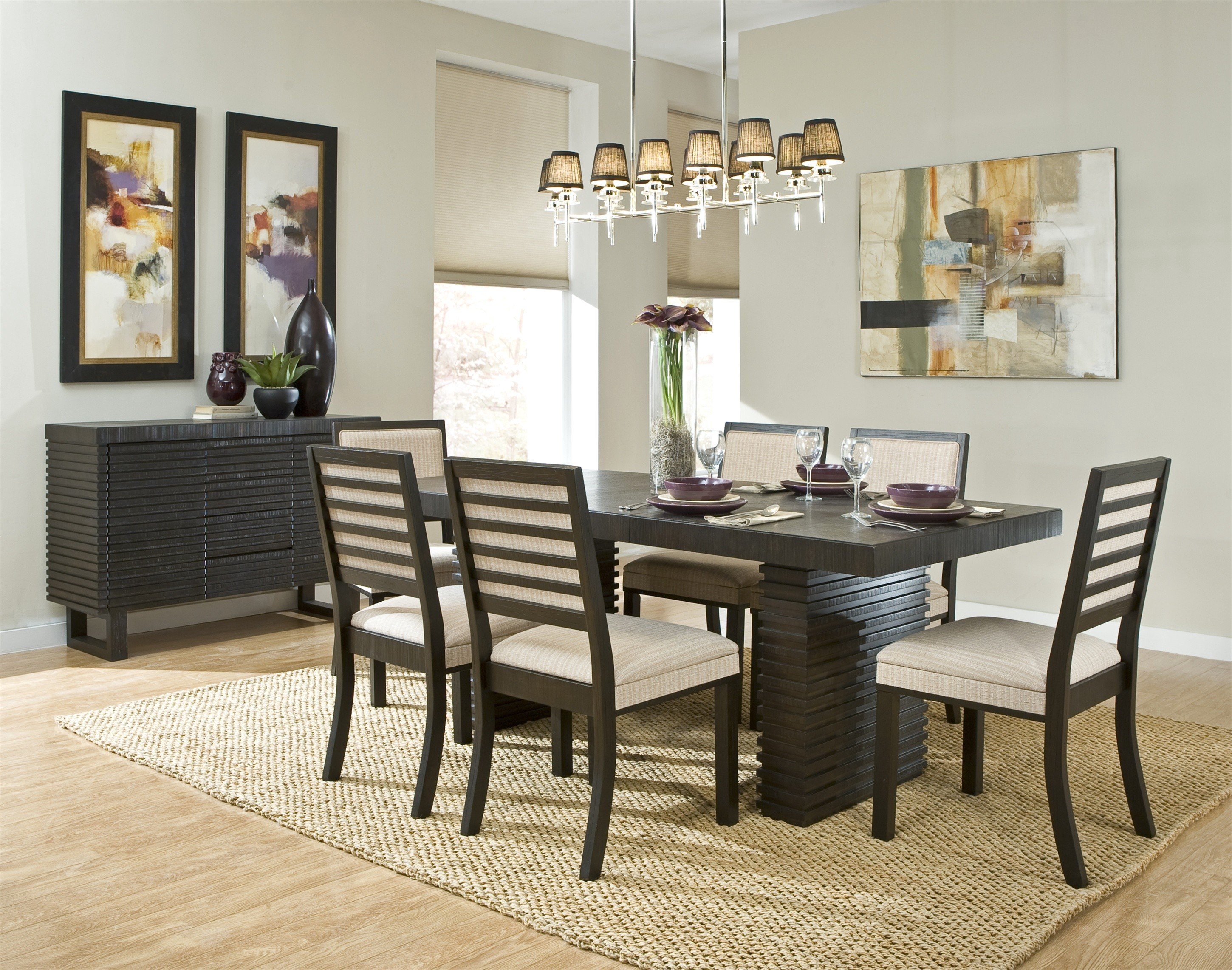 Dining Area With Modern Table