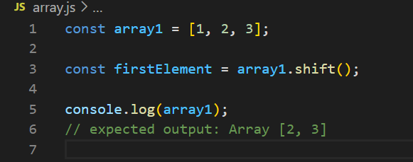 How To Rotate Array Elements In JavaScript Array Methods