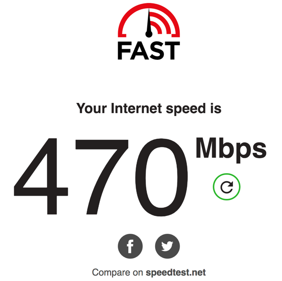 My Upgraded Spectrum Internet 1 Gig 1gbps Service Was 13x Slower Than The 400mbps Service By Matthew Dornquast Medium