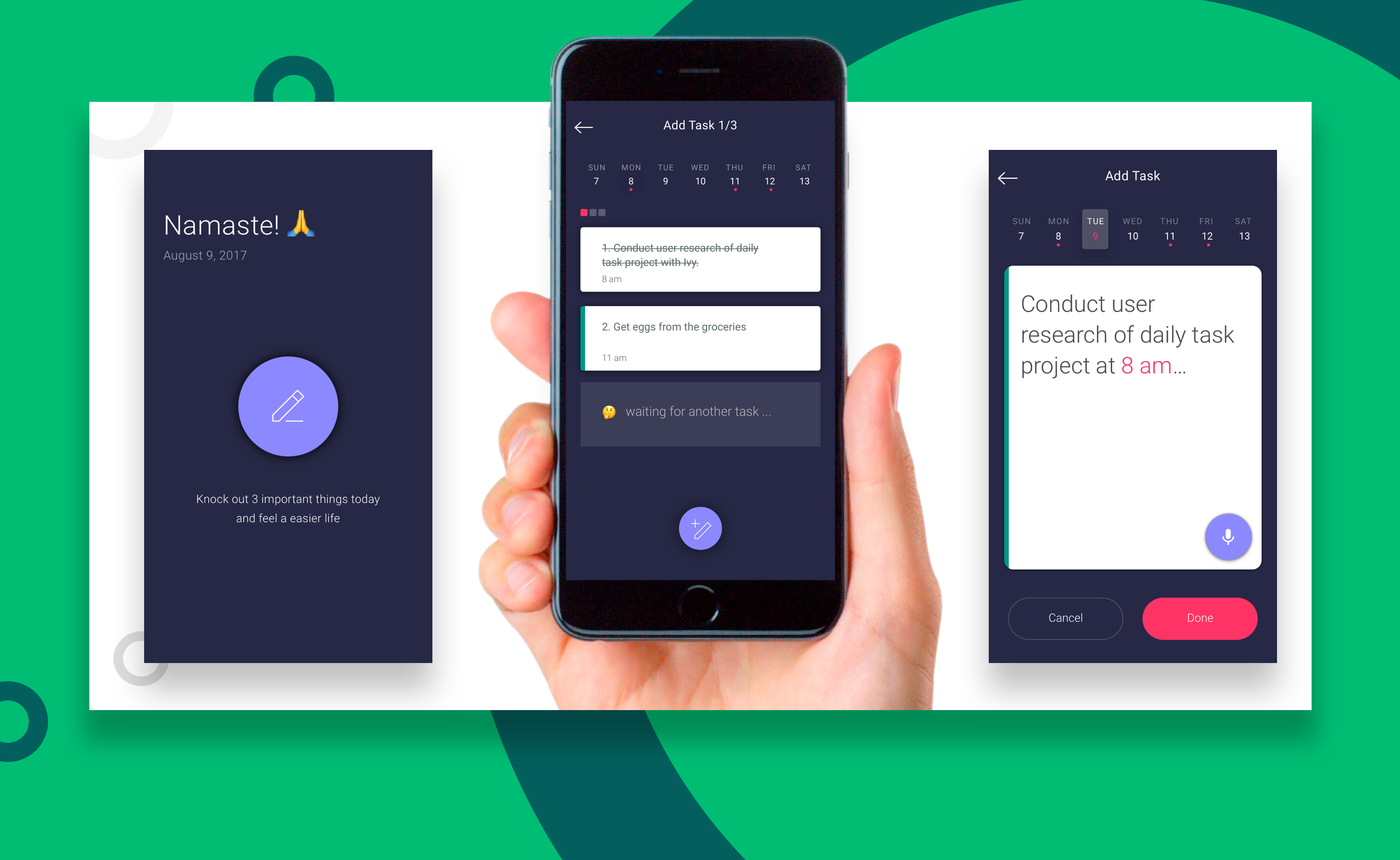 Mindful Daily Task Manager An Ios App Ux Design By Zi Yuan Ux Collective