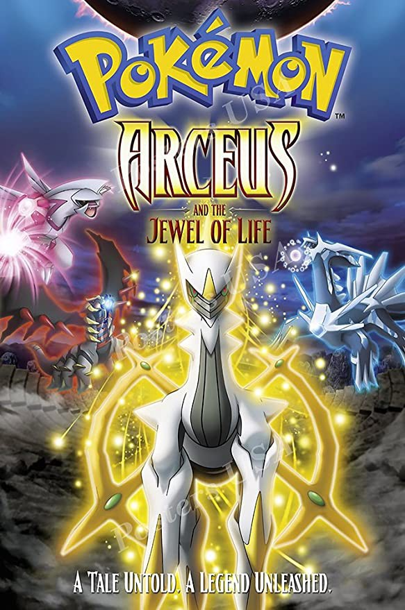 Pokemon Arceus And The Jewel Of Life By Sk Tech Creator Medium